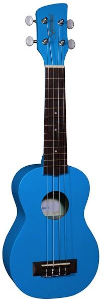 Brunswick Ukulele Soprano Blue Satin - Aquila Strings