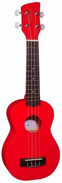 Brunswick Ukulele Soprano Red Satin - Aquila Strings
