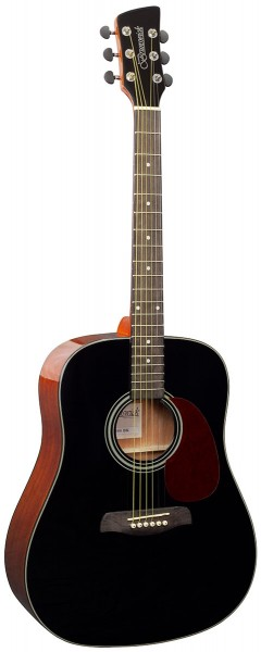 BD200BK - Dreadnought - Black Gloss