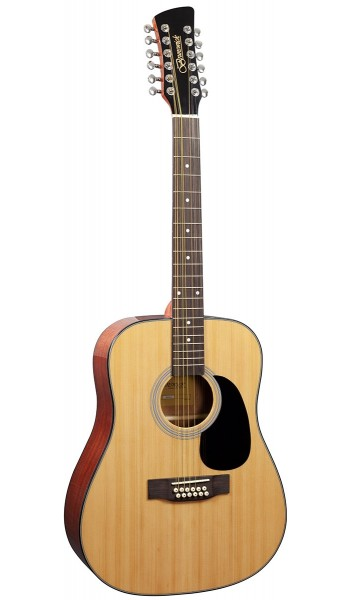 BD20012 - Dreadnought 12 String - Natural Gloss