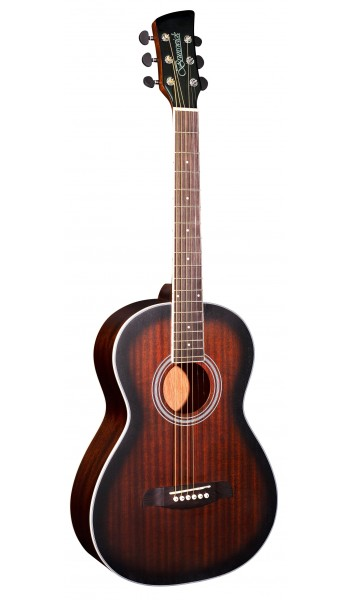 BP200TB - Parlour Guitar - Tobacco Burst Satin