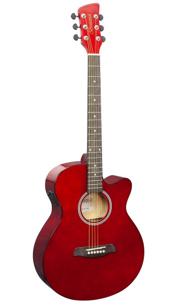BTK30DR -  Slimline Auditorium Electro Dark Red