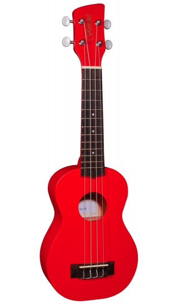 Brunswick Ukulele Soprano Red Satin - Aquila Strings