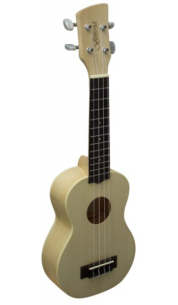BU5S -  Ukulele Soprano. Maple Finish
